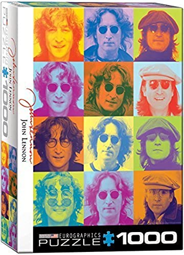 EuroGraphics John Lennon Farbe Portraits (1000 Piece) Puzzle by EuroGraphics