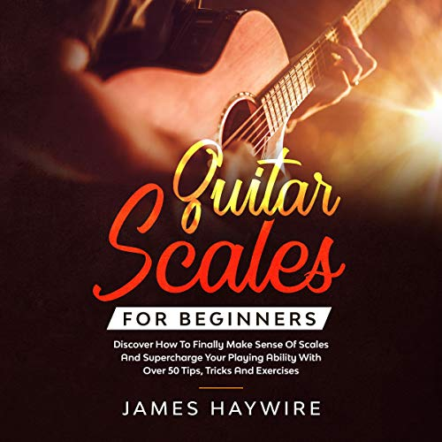 Guitar Scales for Beginners cover art