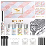 Lash Lift Kit, Eyelash Perm Kit, Curling and Lifting Eyelashes, Long-Lasting Curl, Home & Professional Semi-Permanent Curling Perming Wave Suitable for Salon, 10 uses