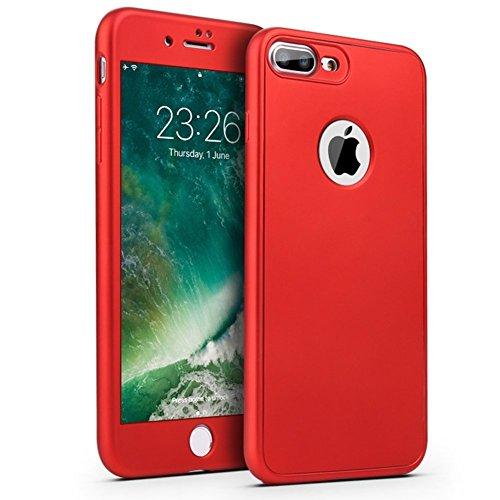 Funda iPhone 8 Plus,iPhone 8 Plus Carcasa Funda Caso 360 Grado Full Body...