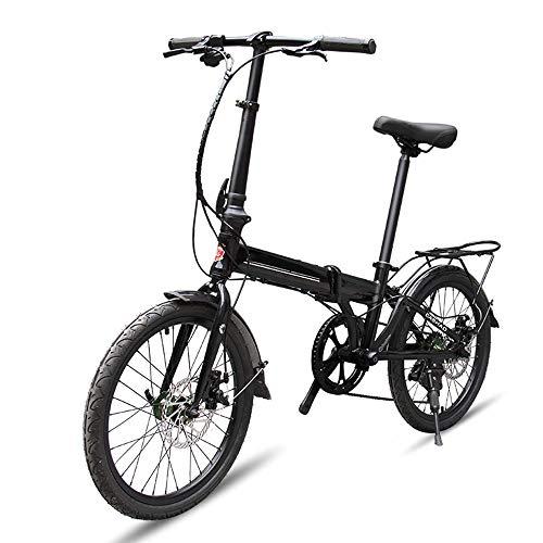 XWDQ mountainbike 20 inch vouwfiets mini jongens en meisjes verschuiving fiets vouwen aluminium legering