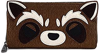 Loungefly x Marvel Guardians of the Galaxy Rocket Zip Wallet
