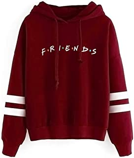 Fashion Casual Friend Hoodie Sweatshirt Friend TV Show Merchandise Women Graphic Tops Hoodies Sweater Funny Hooded Pullover
