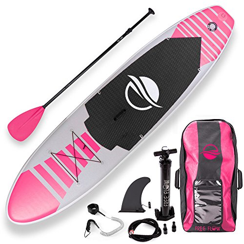 SereneLife Inflatable Stand Up Paddle Board 6 Inches Thick with Premium SUP Accessories amp Carry Bag | Wide Stance Bottom Fin for Paddling Surf Control NonSlip Deck | Youth amp Adult Standing Boat