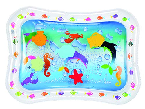 Hoovy Tummy Time Water Mat Baby Water Play Mat, Fill 'N Fun Water Play Mat for Children and Infants, Fun Colorful, Play Mat Baby