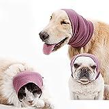 Cagoule pour chien pour soulager l'anxiété et calmer, protection des oreilles pour...
