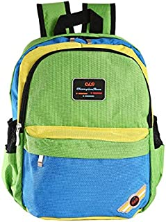 Fashion Green School Bags Backpack For Kids