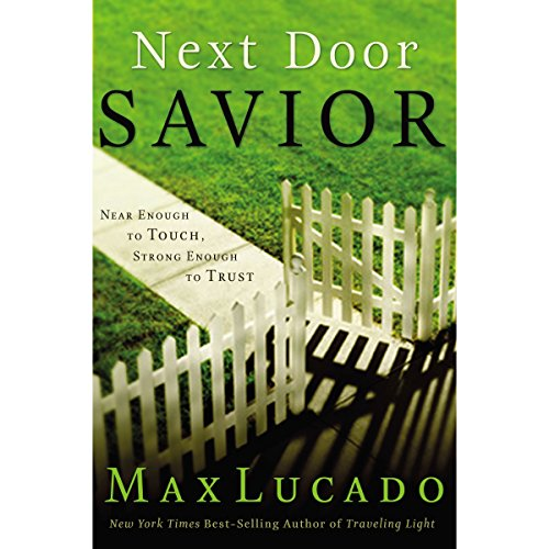Next Door Savior audiobook cover art