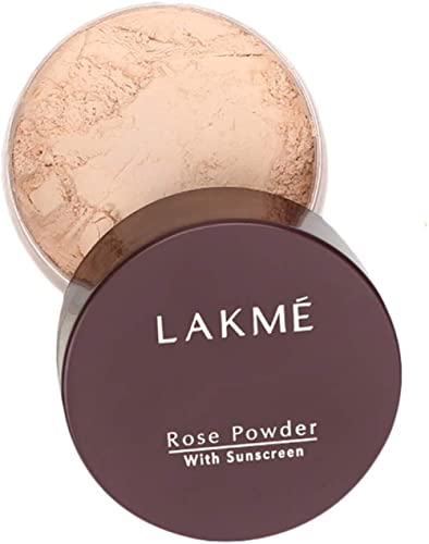 Lakme Rose Face Powder With Sunscreen, Soft Pink, 40 g