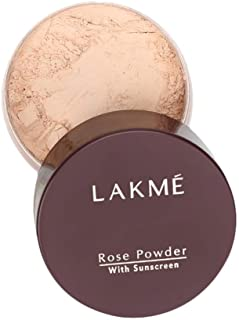 Lakmé Rose Face Powder With Sunscreen, Soft Pink, 40 g
