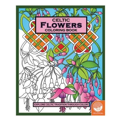 MindWare Celtic Coloring Book: Flowers