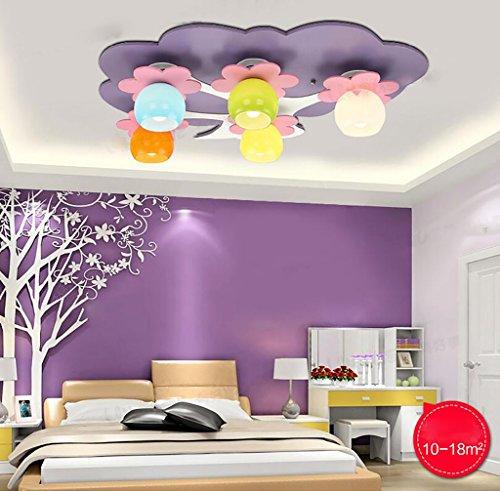 Mode Eclairage de plafond-WXP Big Tree Chambre d'enfant Protection des yeux Lampe de plafond LED Lampe de chambre à coucher Chambre à coucher Cuisine maternelle Creative Cute Lighting (78 * 58 * 20cm) Luminaires intérieur-WXP ( Couleur : LED25W )