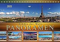Staedte der Welt, Panoramen (Tischkalender 2022 DIN A5 quer): Eindrucksvolle Staedte der Welt in aussergewoehnlichen Panoramen. (Monatskalender, 14 Seiten )