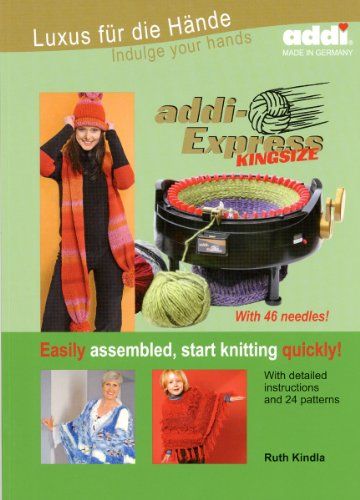 addi Express Kingsize with 46 needles instructions