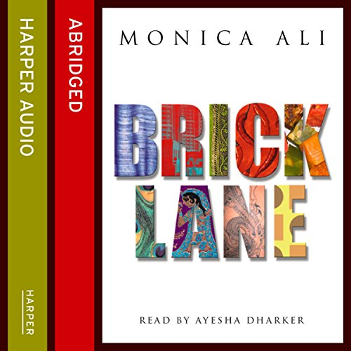 Brick Lane audiobook cover art