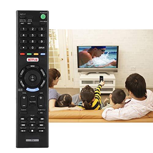 Socobeta Smart TV TV de repuesto universal para RMT-TX102URMT-TX100D RMT-TX101J RMT-TX102D KDL-32R500C KDl-40R550C