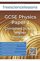 Freesciencelessons GCSE Physics Paper 2: Combined Science Higher Workbook (Freesciencelessons GCSE Combined Science Higher Tier) Paperback