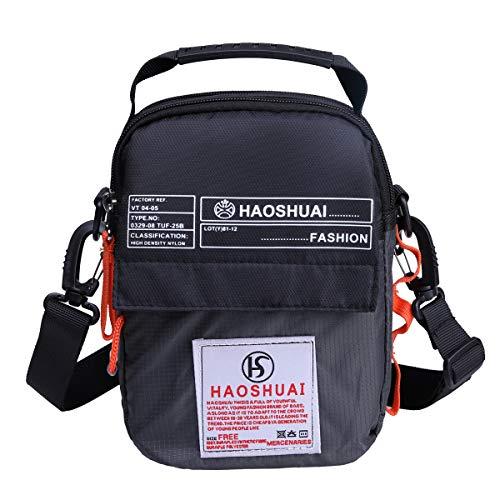JAKAGO スポーツバッグ ショルダー メンズ ボディ バッグ スマホポーチ ウエストバッグ 大容量 メンズ レディース 防水 バイク 釣り 遠足、登山、サイクリング、部活、ランニング、ジョギング、アウトドア 3way ウエスト ポーチ アウトドア バッ
