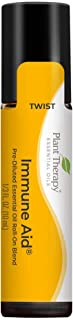 Plant Therapy Immune Aid Essential Oil Blend 10 mL (1/3 oz) 100% Pure, Pre-Diluted Roll On, Therapeutic Grade
