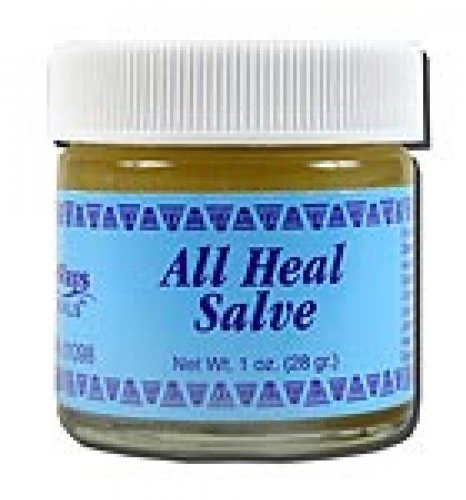 WiseWays Herbals: Salves for Natural Skin Care, All Heal 1 oz by WiseWays Herbals