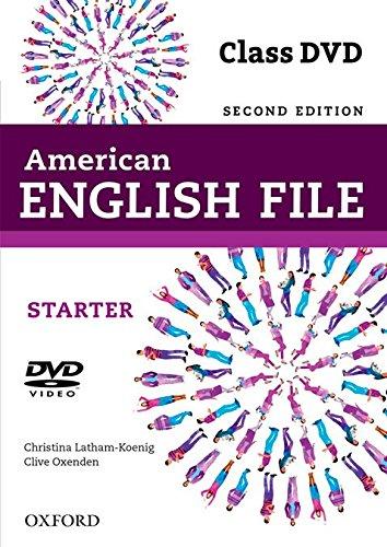 American English File 2E Starter Class DVD