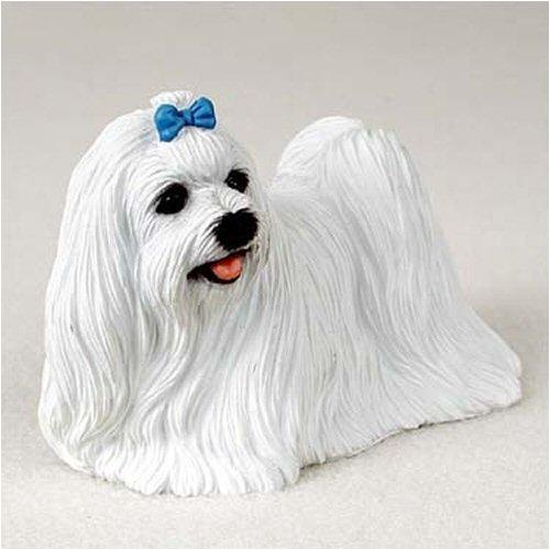 Conversation Concepts Maltese Original Dog Figurine (4in-5in)