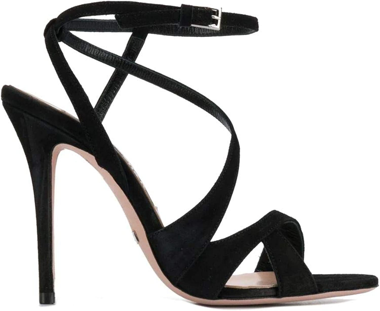 Sebastian Luxury Fashion Fashion Damen S7915CAMschwarz Schwarz Sandalen   Frühling Sommer 19  um Ihnen einen angenehmen Online-Einkauf zu ermöglichen