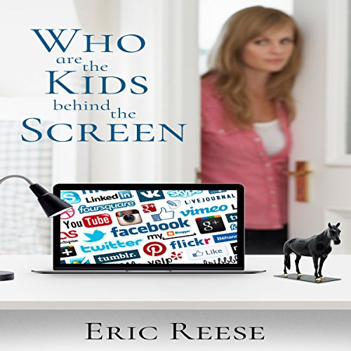 Who are the Kids Behind the Screen audiobook cover art