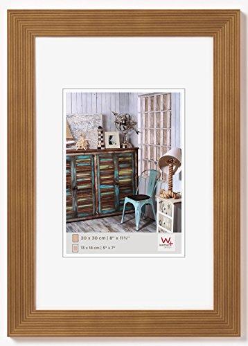 walther design HI040E Grado Holzrahmen Format 30 x 40 cm, eiche