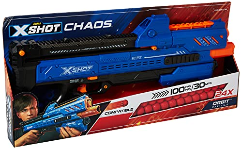 ZURU X-Shot 36281 Chaos Toy, Blue