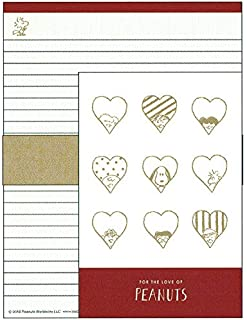 Snoopy Letter Glance Heart Series 087152