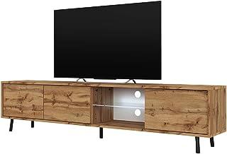 Selsey Meuble TV, Wotan Eiche Matt, 175x31,3x40,5