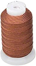 Simply Silk Beading Thread Cord Size FF Brown 0.015 Inch 0.38mm Spool 115 Yards for Stringing Weaving Knotting