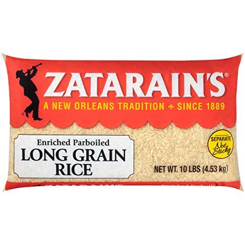 Zatarain's Enriched Parboiled Long Grain Rice, 10 lbs