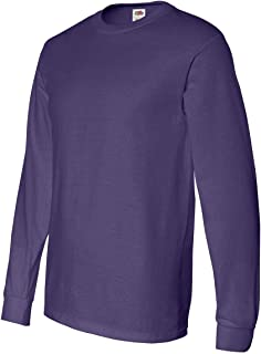 Fruit of the Loom Heavy Cotton HD 100% Cotton Long Sleeve T-Shirt