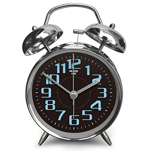 LTOOD wakker worden op moeilijkheden, valpersoon, nachtalarm, retro wekker, elektronische bel, studenten stillen alarm creativiteit, E
