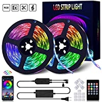 Yakside 32.8ft 10m Led Strip Lights with IR Remote