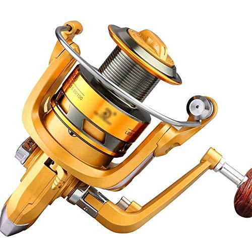 KDXBCAYKI Ruota da Pesca con Mulinello da Pesca in Metallo Super-Slittamento Leggero E Leggero (Size : YL3000)