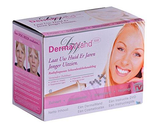 Dermawand Hautpflege für professionelle Ergebnissen, für glatte und jüngere Haut in nur 3 Minuten pro Tag, verjüngen Sie Ihr Gesicht