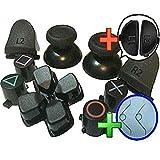 gotor PS4 コントローラー 対応互換用 ジョイスティック サムスティック ボタン