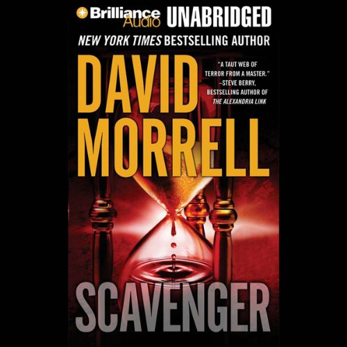 Scavenger audiobook cover art