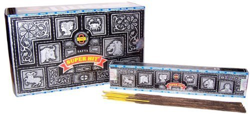Nag Champa Superhit Incense Sticks, Pack X 12 Boxes