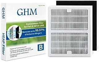 GHM Part # IAF-H-100B Air Purifier Filters for Idylis Air Purifier AC-2126, AC-2125, IAP-10-125 and IAP-10-150 Models