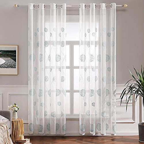 cortinas salon gris 2 piezas