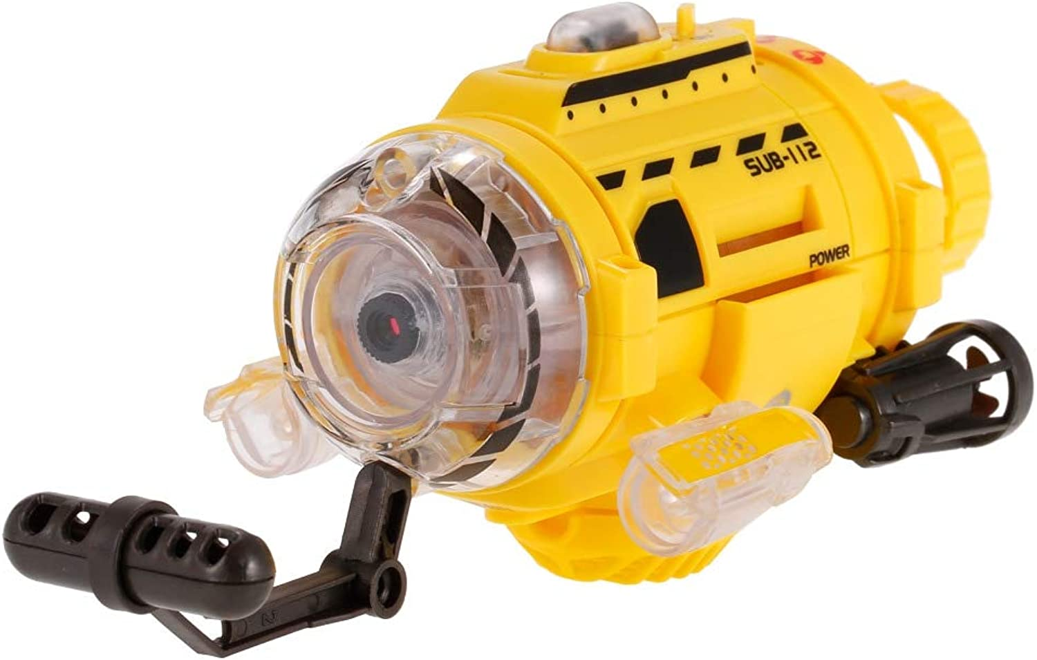 Generic Remote Control Infrared RC Submarine with 0.3MP Camera and Light RC Toy for Kids Camera Submarine Birthday