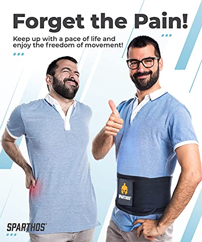 Back Brace by Sparthos - Immediate Relief from Back...