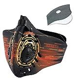 SKYSPER Masque de Sport en Nylon Protection Masque du Vélo Respiratoire...