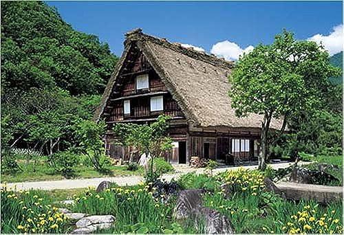 Shirakawa-go 08-502 of 450 master piece of fresh vert puzzle (japan import)