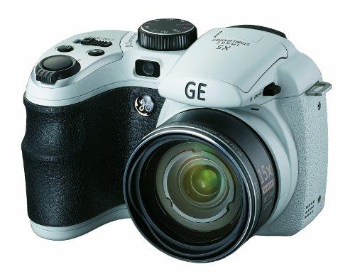 GE General Electric X5Cámara Digital (14megapíxeles, óptico de 15. Zoom, Pantalla de 6,9cm (2,7Pulgadas), Gran Angular de 28mm, Opt. Estabilizador de Imagen)