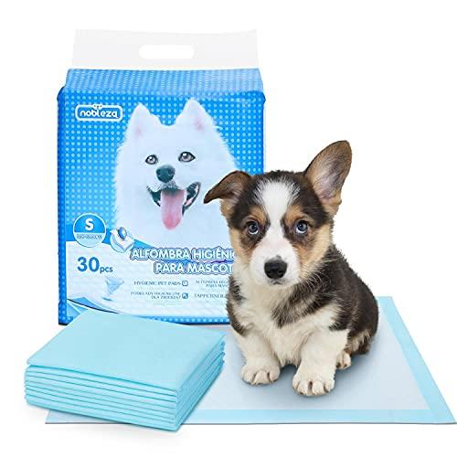 Nobleza 30 Unidades Empapadores Perros Alfombrilla higiénica de Entrenamiento para Perros Ultraabsorbente 40cm*60cm
